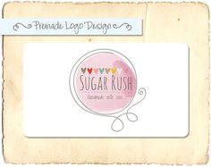 Premade Logo or Watermark Design Sugar Rush от TwilightCreative