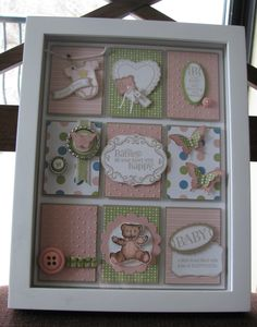 stampin up shadow box | These are a few samples that I have made to get you creative juices ...