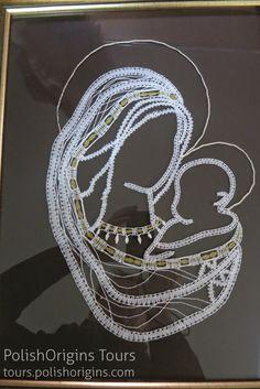 String Art Patterns, Lace Heart, Lace Jewelry, Lace Making, Bobbin Lace, Old Art, Suncatchers, Handicraft, Lace Detail