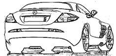 Mercedes McLaren 2004 Coloring Page