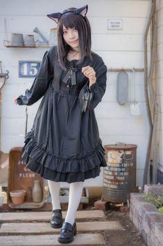 Mode Lolita, Kawaii Clothes, Kawaii Girl, Lolita Dress, Maid, Asian Girl, Cosplay, Costumes, Female