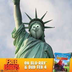 Free birds Lady Liberty #freebirdsdvd #fheinsiders #ad