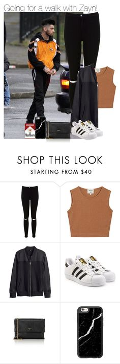 """""""Going for a walk with Zayn!"""" by directionermixer01 ❤ liked on Polyvore featuring Miss Selfridge, Samuji, H&M, adidas Originals, Lanvin and Casetify"""
