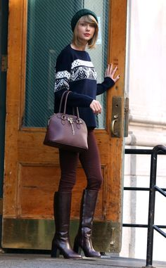 Nov. 13, 2014 | The Official Ranking Of Times Taylor Swift Left Her Tribeca Apartment In 2014