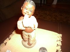 """Figurine by Martha Holcombe~ 'DAVID' #199 from """"God is Love"""" Collection~ Christmas- Kwanza!"""