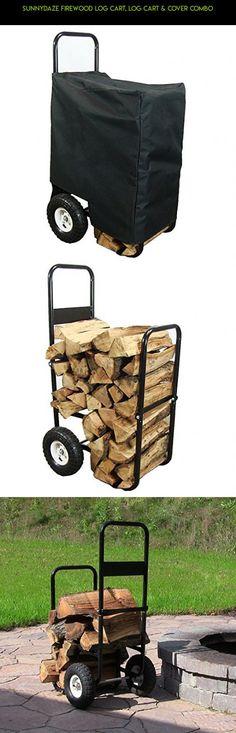 Sunnydaze Firewood Log Cart, Log Cart & Cover COMBO #parts #storage #fpv #a #bin #plans #products #wheels #shopping #tech #technology #gadgets #kit #drone #camera #racing