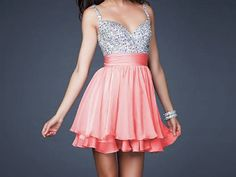 Charming Mini Short Cocktail Evening Dresses Party Formal Bridesmaid Ball Gown on Wanelo Banquet Dresses, Grad Dresses, Dance Dresses, Homecoming Dresses, Evening Dresses, Pageant Dresses, Formal Dresses, Short Dresses, Coral Dress