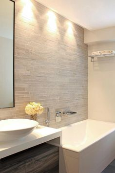 bathroom - tile wall