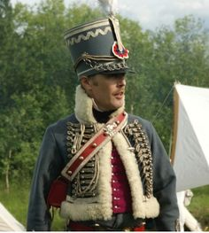 Ufficiale del 3 rgt. ussari francese