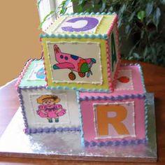 Creme de la Creme Tiered Party Cakes in Bellevue Using
