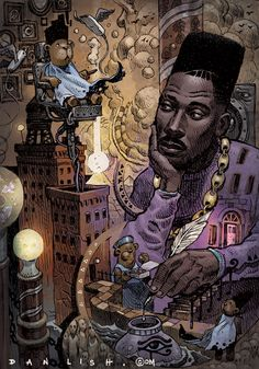Big Daddy Kane by Dan Lish Part of the Ego Strip series… African American Art, African Art, Image Swag, Arte Do Hip Hop, Big Daddy Kane, Black Art Pictures, Hip Hop And R&b, Hip Hop Artists, Dope Art