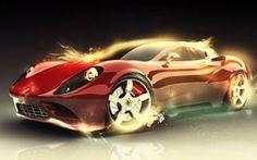 Ferrari Car Special effects Wallpapers at Hdwallpapersz.net