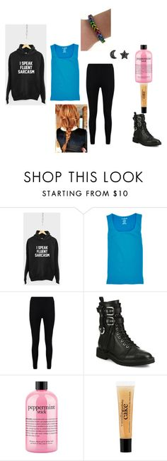 """""""Maya Outfit #1"""" by bookprincess-313 on Polyvore featuring 82 Days, Boohoo, Giuseppe Zanotti and philosophy"""