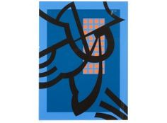 Sam Vanni, 1984, litografia, 68x51 cm, edition X/XX - Hagelstam A146
