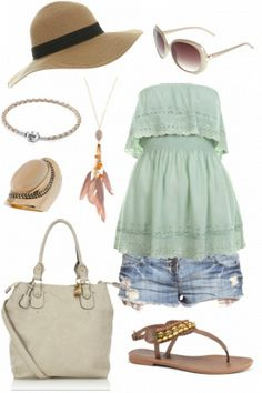 What to wear to the beach #style