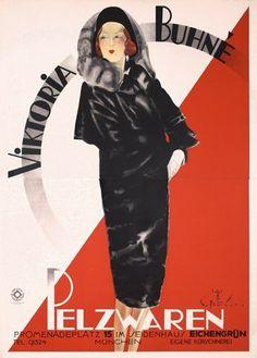 Viktoria Buhne Furs, Munich (1930) by Susanlenox | The Flapper Girl | Bloglovin'