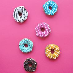 These crochet donuts are so easy and fun to make!