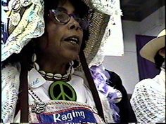 Raging Grannies sing during Medea Benjamen's speech in a Ann Arbor bookstore concerning Code Pink and the NoRNC 2004 protests.     More fun and funny at http://imlol.net