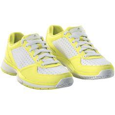 zapatilla de tenis Sebellica Mujer, Run Yellow-Smc / Running White / Grey Feather