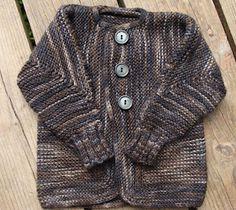 Elizabeth Zimmerman Baby Surprise Jacket~ knit baby sweater http://www.reeniehanlin.blogspot.com/2012/07/baby-surprise-jacket-2-2012.html