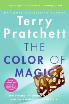 The Color of Magic (Discworld, #1; Rincewind, #1) Free Books, Good Books, And The Mountains Echoed, The Colour Of Magic, Beloved Toni Morrison, Terry Pratchett Discworld, British Humor, Douglas Adams, Oliver Twist