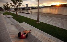 The CityDeck by Stoss Landscape Urbanism , via Behance