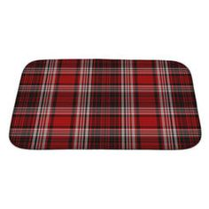 Gear New Picnic Bright, Bold Plaid Bath Mat/Rug   Size: Large