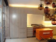 Contemporary kitchen I made .