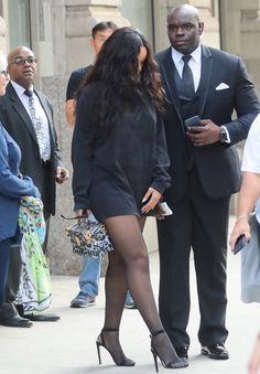 9/14 :Rihanna headed to The Diamond Ball in NYC.