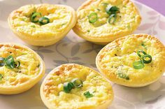 Feeding the masses has never been simpler with these quick and easy mini quiches.