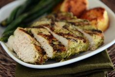 With only four ingredients, this pesto grilled chicken is bound to become a favorite! The flavors are crazy delicious and it is one of the easiest meals ever.