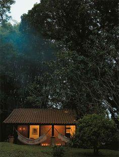 Delícia de casinha Outdoor Living Areas, Farm Life, House Design, Cabin, Landscape, Architecture, House Styles, Places, Nova