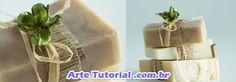 Como reciclar sabonete artesala e decorar