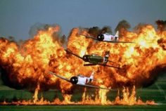 """'Tora! Tora! Tora!' Re-Enactment ot Make AirVenture Debut  one of the most dazzling warbird air show performances flying today - will be part of the EAA AirVenture Oshkosh afternoon warbird shows for the first time this summer.     The """"Tora! Tora! Tora!"""" performances are scheduled for Friday and Saturday, July 27-28, the final weekend of EAA AirVenture. (Photo courtesy Commemorative Air Force)"""