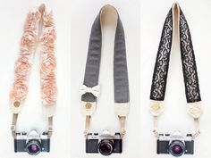 LOVE these gorgeous Bloom Theory Camera Straps!! via @The TomKat Studio