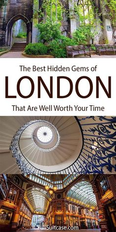 Cool secret places in London that most tourists never see #londontravel #londontrip #london