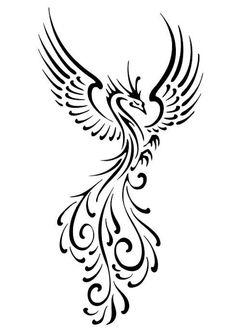tribal-phoenix-tattoo-designs-54e40ddccc31a.jpg (1024×1449)
