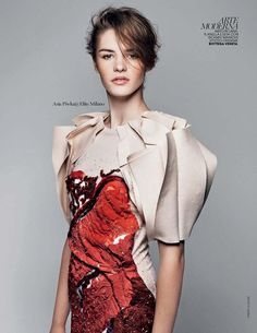 Bottega Veneta ('New Face, New Look' Thierry Le Gouès for Marie Claire Italy September 2013)