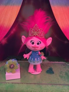 The star of the upcoming Trolls movie, Poppy (played by Anna Kendrick) comes to life for little ones via th...