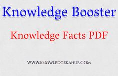 Knowledge Hub: Knowledge Booster - 2 Knowledge, Facts, This Or That Questions, Consciousness, Truths