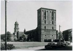 Noch bis Mitte der achtziger Jahre stand die Ruine der Nikolaikirche auf einer Brache | Foto: Werner Engel/Stiftung Stadtmuseum Berlin