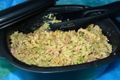 Pastaschotel met broccoli, hamblokjes en chilipeper Een gemakkelijk en lekker pastagerechtje in de ultra pro.