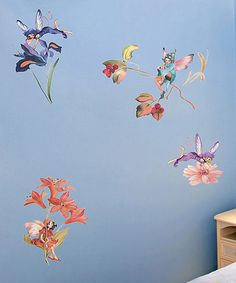 Take a look at this Fairies Wall Decal Set by WallPops! on #zulily today!