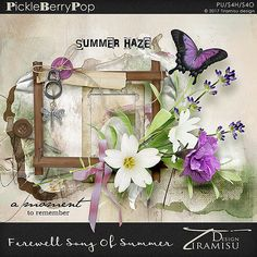 Farewell Song Of Summer ~ Basic Kit by Tiramisu design