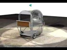 Nómadas Urbanos. Krzysztof Wodiczko Homeless Vehicle Project