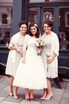 Snappy 2015 A-line Short Lace Beach Wedding Dresses Plus Size Scoop Neck With 3/4 Long Sleeves Tea-length Bridal Gowns