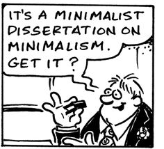 Minimalist Dissertation