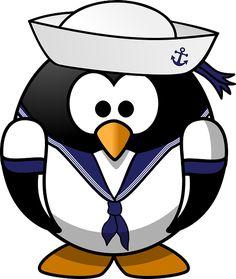 Just for some Monday cuteness, a penguin. #justforfun #iboatsdotcom
