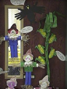 Red Ribbon Week and Scarecrows?  Who knew?