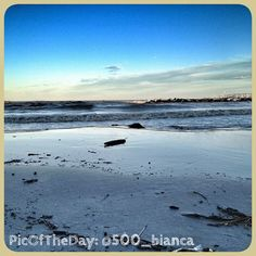 """Una #PicOfTheDay #turismoer in super-diretta da Rimini: """"Il mare oggi"""" Complimenti e grazie a @500_bianca"""